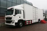中国重汽 HOWO T5G重卡 280马力 4X2 9.6米厢式载货车(ZZ5187XXYN711GE1H)