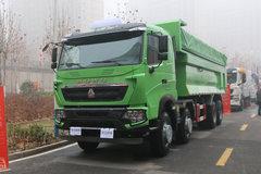 中国重汽 HOWO T6G重卡 380马力 8X4 自卸车(渣土车)(ZZ3317N386WE1) 卡车图片