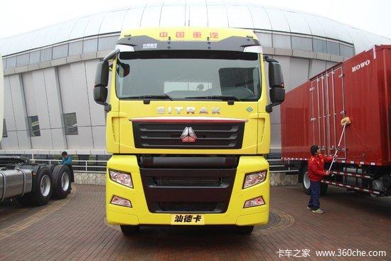 中国重汽 汕德卡SITRAK C7H重卡 430马力 6X4 CNG牵引车(ZZ4256V384HE1C)