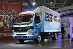 福田 欧马可EST 超级卡车 82马力 4.2米单排纯电动厢式轻卡(BJ5041XXYEV)