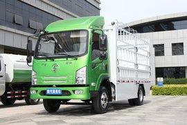 陕汽商用车 轩德E9 4.5T 4.1米单排纯电动仓栅式轻卡96.7kWh