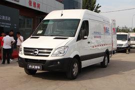 南京金龙 开沃D11 6米纯电动封闭厢式运输车