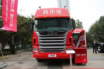 江淮 格尔发A5W重卡 430马力 6X4牵引车(超高顶)(HFC4251P12K7E33S3V)