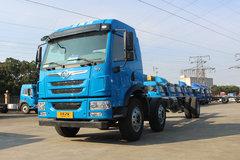 青岛解放 龙V中卡 220马力 6X2 9.6米栏板载货车底盘(CA1250PK2L7T3E5A80) 卡车图片