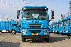 青岛解放 龙V中卡 180马力 4X2 7.65米厢式载货车底盘(CA5160XXYPK2L5BE5A80-3) 卡车图片