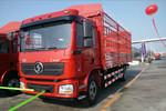 陕汽重卡 德龙L3000 220马力 4X2 6.7米排半仓栅式载货车(SX5180CCYLA12)