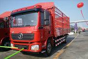 陕汽重卡 德龙L3000 220马力 4X2 6.75米排半仓栅式载货车(SX5180CCYLA12)