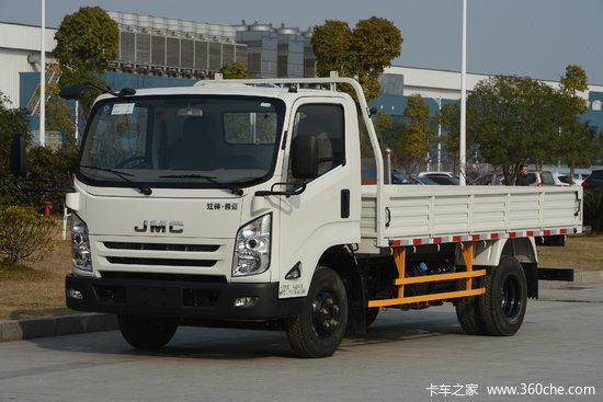 江铃 凯运升级版 116马力 4.155米单排栏板轻卡(中体)(JX1044TGA25)
