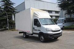 南京依维柯 宝迪 143马力 4X2单排厢式轻卡(NJ5045XXYLQE) 卡车图片