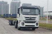 上汽红岩 杰狮M100重卡 390马力 8X4载货车底盘(CQ1326HTVG39-466)