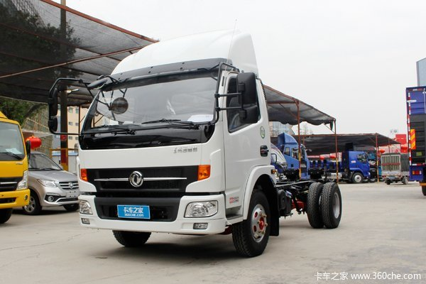 东风 凯普特K6-L 150马力 4.17米单排厢式轻卡底盘