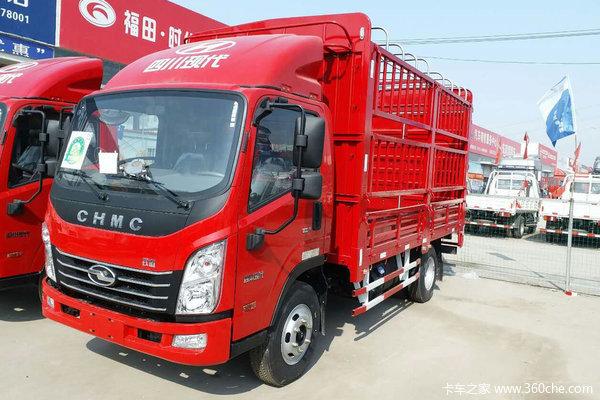 现代商用车(原四川现代) 致道300M 141马力 4.18米单排仓栅式轻卡