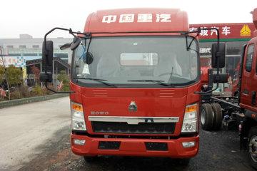 中国重汽HOWO 悍将 143马力 4.15米单排厢式轻卡(ZZ5047XXYF3315E145)图片