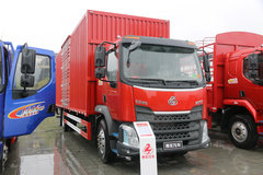 东风柳汽 新乘龙M3中卡 185马力 4X2 6.2米排半厢式载货车(LZ5181XXYM3AB)