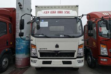 中国重汽HOWO 悍将 170马力 4.15米单排仓栅式轻卡(ZZ5047CCYG3314E143)