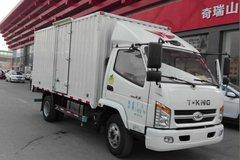 唐骏欧铃 轻卡王 124马力 4X2 4.15米单排厢式载货车(ZB5040XXYTDD6F) 卡车图片
