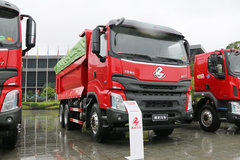 东风柳汽 乘龙H7 385马力 6X4 5.6米自卸车(渣土车)(LZ3251M5DB)