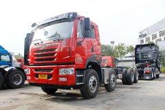 青岛解放 悍V准重卡 310马力 8X4 6.8米自卸车底盘(CA5310ZLJP1K2L3T4E5A80) 卡车图片