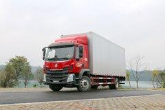 东风柳汽 新乘龙M3中卡 210马力 4X2 7.7米排半厢式载货车(LZ5163XXYM3AB) 卡车图片