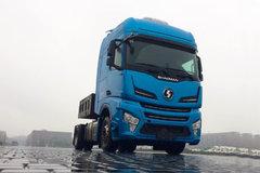 陕汽重卡 德龙X6000 550马力 4X2牵引车(SX4180GC1) 卡车图片