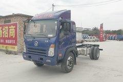 大运 奥普力 170马力 5.2米单排仓栅式轻卡底盘(CGC5140CCYHDE41E) 卡车图片