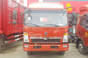 中国重汽HOWO 悍将 经典款 116马力 3.3米排半厢式轻卡(ZZ5047XXYC2813E145)