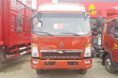 中国重汽HOWO 悍将 129马力 3.8米排半越野栏板轻卡底盘(ZZ2047F3325E145) 卡车图片