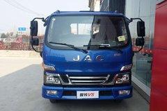 江淮 骏铃V5 120马力 4.2米单排栏板载货车(HFC1045P92K1C2V) 卡车图片