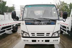 庆铃 五十铃600P 120马力 3.8米排半栏板轻卡(QL1040A1HH) 卡车图片