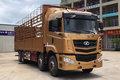 华菱 汉马H6 345马力 8X4 9.6米仓栅式载货车