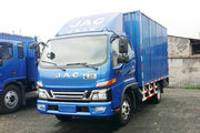 江淮 骏铃V6 143马力 4.18米单排厢式轻卡(HFC5043XXYP91K1C2V)