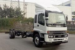 庆铃 FTR系列中卡 205马力 4X2厢式载货车底盘(QL5180XXYVTFRY)