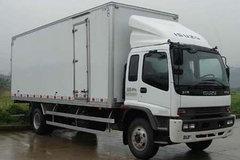 庆铃 FTR系列中卡 205马力 4X2 9.6米厢式载货车(QL5180XXYVTFR1J)