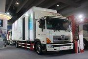 广汽日野 700系列重卡 300马力 4X2 9.5米翼开启厢式载货车(YC5180XYKFH8JW5)