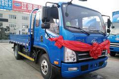 解放 虎VH 130马力 3.85米排半栏板轻卡(速比:4.875)(CA1043P40K2L1E5A84) 卡车图片