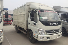 福田 奥铃TX 110马力 4.23米单排仓栅式轻卡(气刹)(BJ5049CCY-C1) 卡车图片