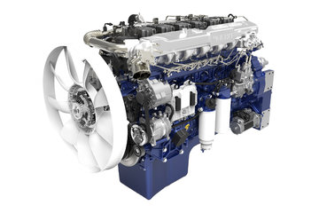 潍柴WP12.430E50 430马力 12L 国五 柴油发动机
