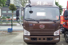 解放 J6F 165马力 3.85米排半仓栅式载货车底盘(CA5044CCYP40K2L1E5A84) 卡车图片