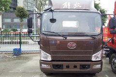解放 J6F 160马力 3.85米排半仓栅式载货车底盘(CA5044CCYP40K2L1E5A84) 卡车图片