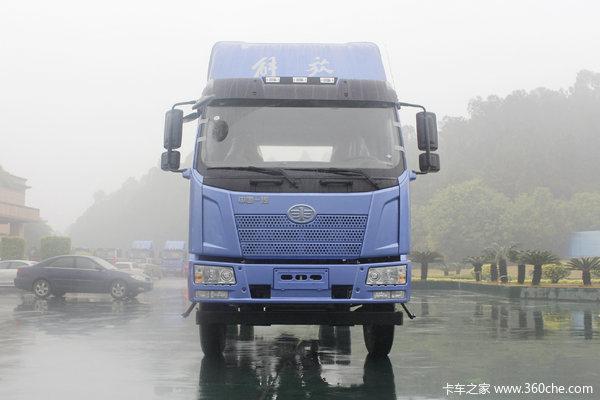一汽解放 J6L中卡 质惠版 180马力 7.7米厢式载货车底盘
