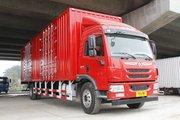 青岛解放 龙V中卡 220马力 4X2 9.65米厢式载货车(CA5189XXYPK2L7E5A80)