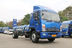 江淮帅铃 威司达W500中卡 190马力 4X2 6.8米厢式载货车底盘(HFC5120XXYP70K1E1V) 卡车图片