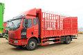 一汽解放 J6L中卡 180马力 4X2 6.8米仓栅式载货车