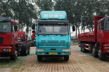 陕汽 奥龙重卡 270马力 6X4 7.4米栏板载货车(中长半高顶)(SX1255UM434)