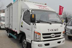 唐骏欧铃 骏骐 旗舰版 88马力 4.15米单排厢式轻卡(ZB5043XXYLDD6F) 卡车图片