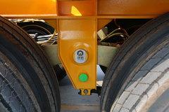 锣响 40英尺轻量化集装箱骨架半挂车 卡车图片