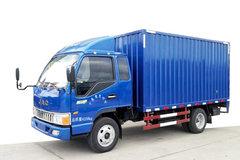 江淮 骏铃E3 120马力 3.8米排半厢式轻卡(HFC5041XXYP93K1C2V) 卡车图片