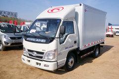 福田时代 小卡之星2 68马力 4X2 柴油 3.3米单排厢式轻卡(BJ5042XXY-A1)