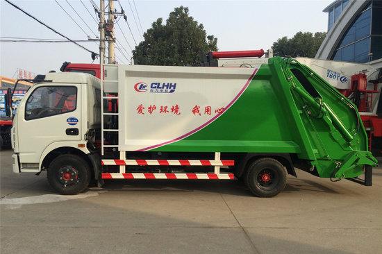 湖北程力(程力威牌)东风 多利卡 143马力 4X2 压缩式垃圾车(湖北程力-程力威牌)(CLW5080ZYST5)20180522472198