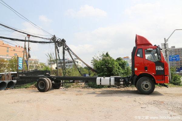 一汽解放 J6L中卡 质惠版 220马力 4X2 9.7米厢式载货车底盘(CA5180XXYP62K1L7E5)